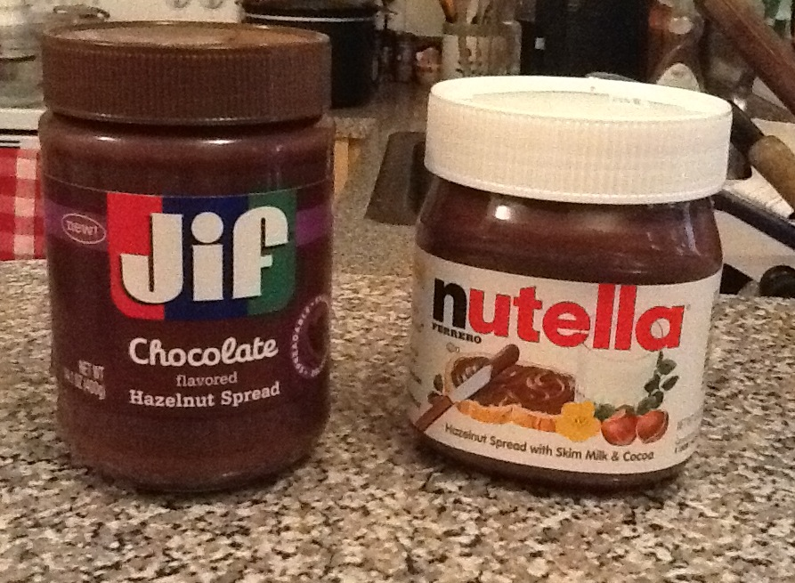 Nutella -versus- Jif Chocolate Hazelnut Spread « GRUBDUDE